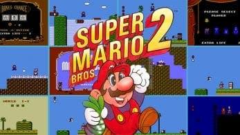 Super Mario Bros. 2 y Kirby's Adventure son los juegos que llegan este mes a la app de NES de Nintendo Switch Online