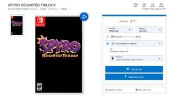 Gameplanet también lista Spyro Reignited Trilogy para Nintendo Switch