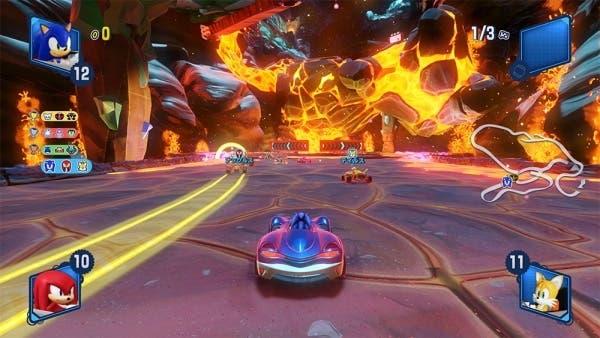 Team Sonic Racing nos presenta la pista «Hidden Volcano»