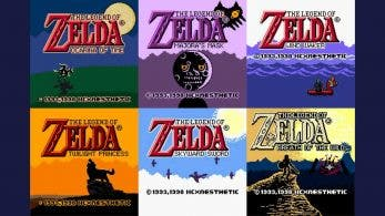 Un fan de The Legend of Zelda reimagina los títulos en 3D de la serie al estilo de la Game Boy Color