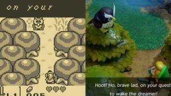 Imágenes comparativas entre The Legend of Zelda: Link's Awakening para Switch y el original