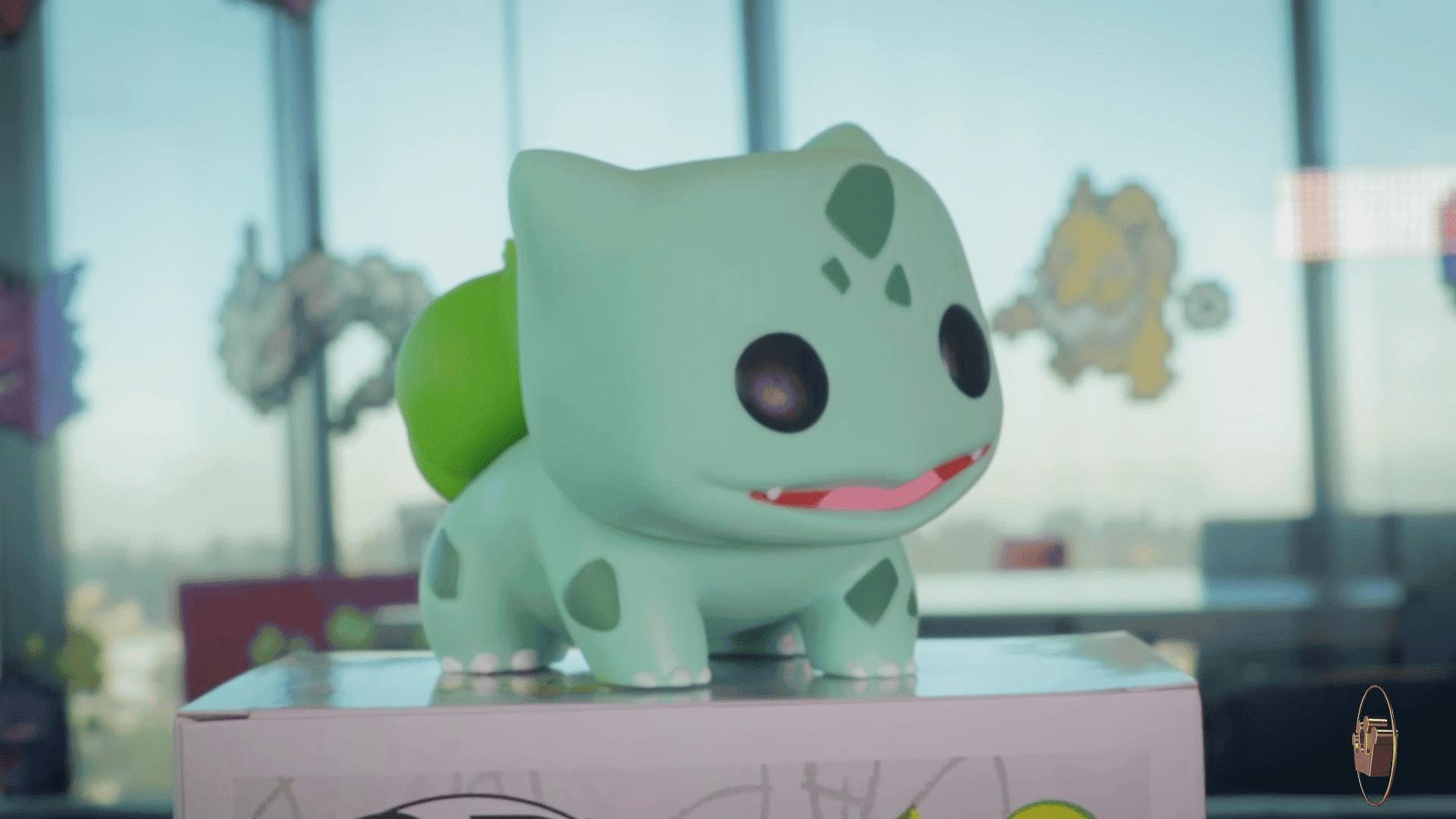 Unboxing de la figura Funko Pop Pokémon de Bulbasaur