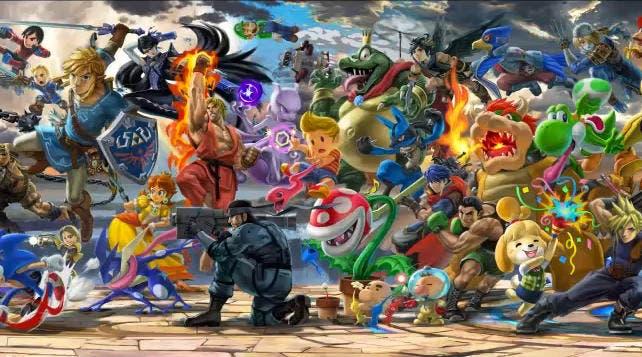 Ya puedes descargarte el mural de Super Smash Bros. Ultimate con la Planta Piraña