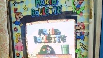 Echa un vistazo a Mario Roulette, una curiosa máquina recreativa lanzada por Nintendo y Konami en 1991