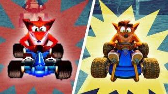[Act.] Así luce Crash Team Racing Nitro-Fueled comparado con la versión de PlayStation