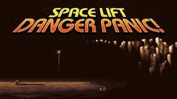 Space Lift Danger Panic! llegará a Nintendo Switch: disponible el 15 de febrero