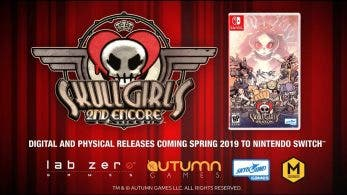 Skullgirls 2nd Encore se lanza en Nintendo Switch esta primavera