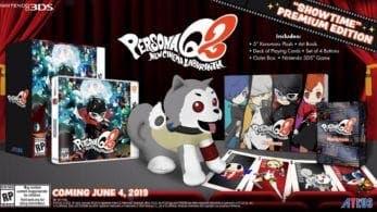 Atlus envía por accidente una imagen del prototipo «Showtime» Premium Edition de Persona Q2