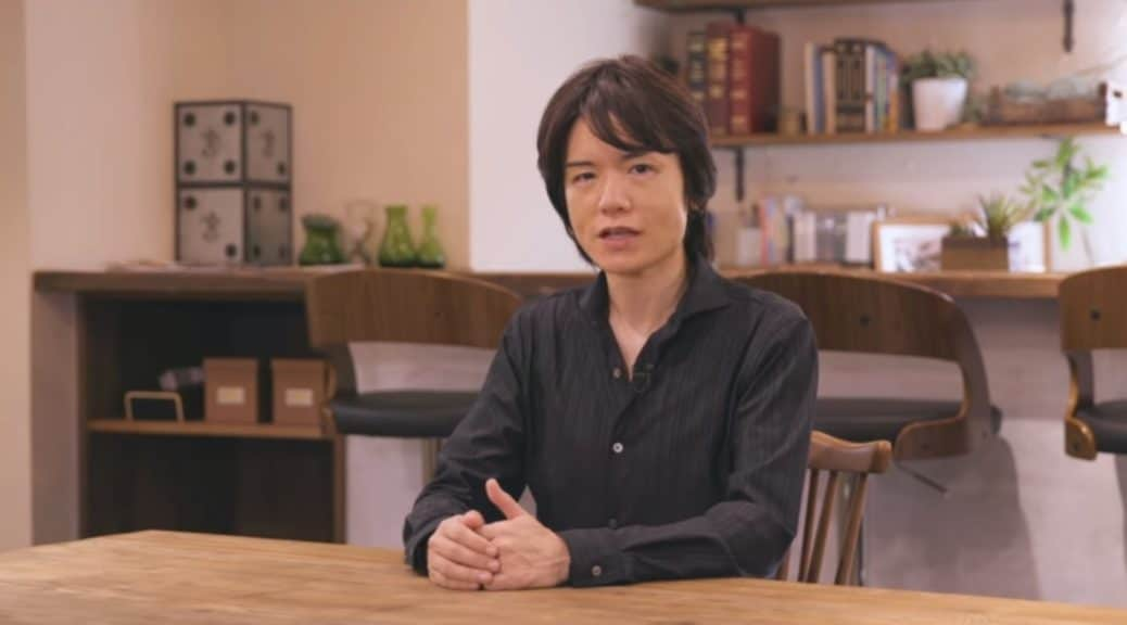 Masahiro Sakurai no sabía que Super Smash Bros. Ultimate había ganado el GOTY a mejor juego de lucha hasta unas horas después