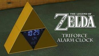 El reloj despertador The Legend of Zelda Triforce saldrá a finales de marzo de este año