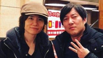 Suda51 comparte una foto con Masahiro Sakurai