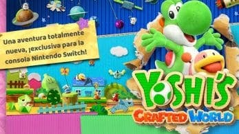 Nintendo of America inaugura el sitio teaser oficial de Yoshi's Crafted World