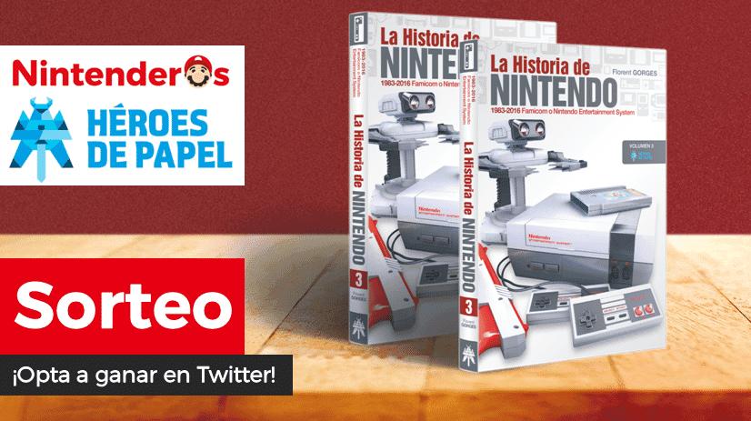 [Act.] ¡Sorteamos 2 libros La Historia de Nintendo Vol. 3 junto a Héroes de Papel!