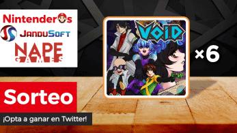 [Act.] ¡Sorteamos 6 copias de V.O.I.D. para Nintendo Switch!