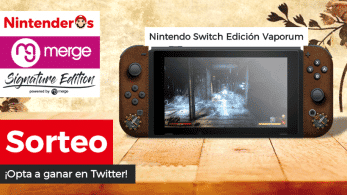 [Act.] ¡Sorteamos una Nintendo Switch Edición Vaporum!