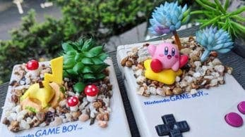 Una artista convierte sus Game Boy en macetas con temática de Nintendo