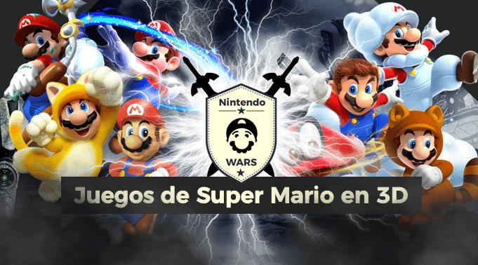 ¡Arranca Nintendo Wars: Juegos de Super Mario en 3D!