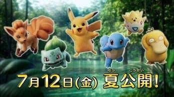 Así lucen Vulpix, Bulbasaur, Squirtle, Togepi y Psyduck en la película Pokémon:Mewtwo Strikes Back Evolution