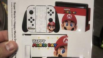 Mira las geniales skins para Switch que están regalando a los asistentes a la Nintendo NY por el MAR10 Day