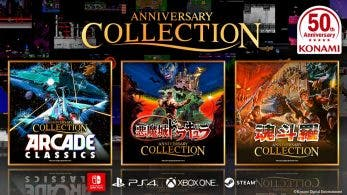 [Act.] Konami anuncia Anniversary Collection Arcade Classics, Castlevania Anniversary Collection y Contra Anniversary Collection para Switch