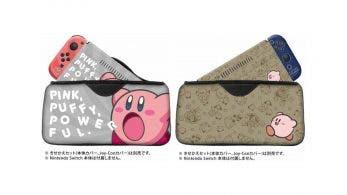 Anunciadas nuevas fundas y carcasas de Kirby para Nintendo Switch