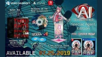 AI: The Somnium Files se lanza el 25 de julio, edición especial confirmada para Norteamérica