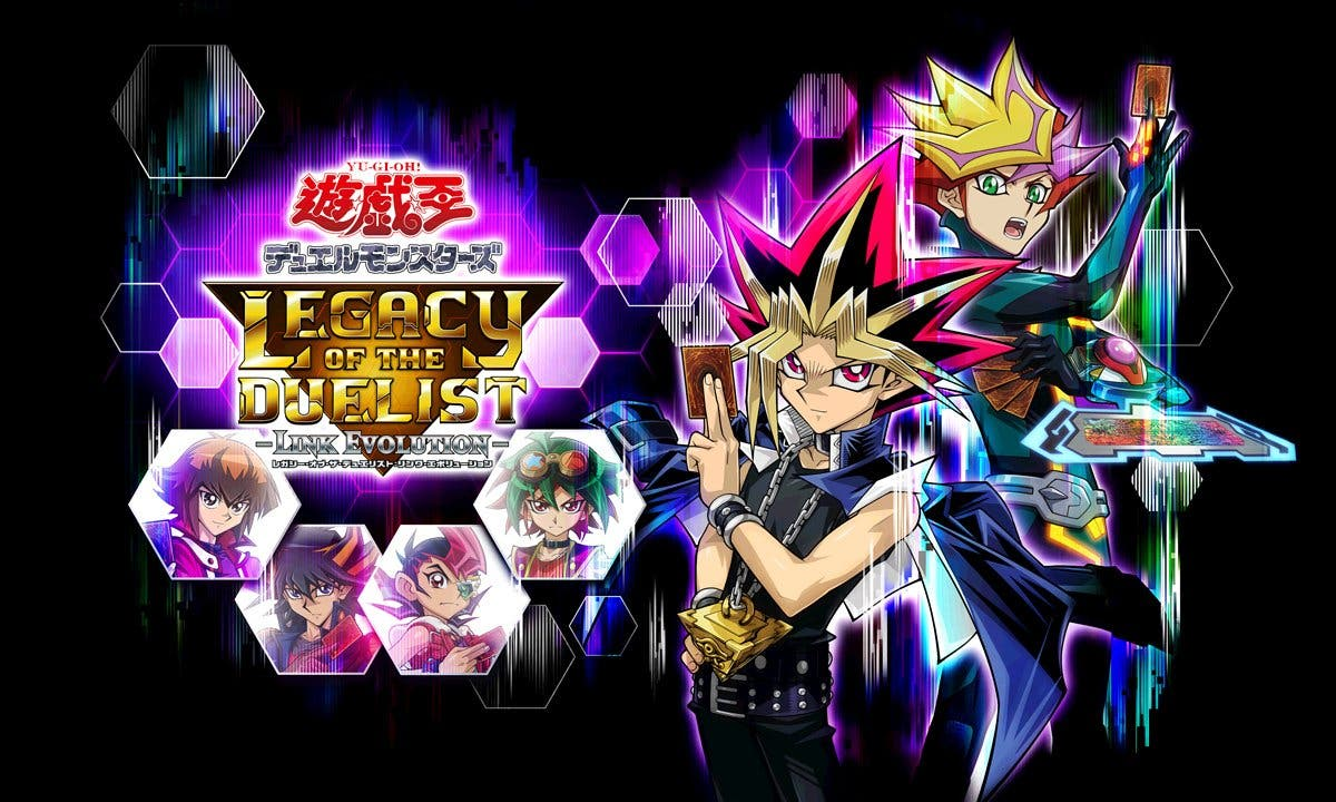 [Act.] Yu-Gi-Oh! Legacy of the Duelist: Link Evolution para Nintendo Switch puede jugarse usando solo controles táctiles