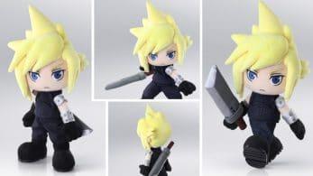 Ya puedes reservar este muñeco de acción de Cloud en Final Fantasy VII