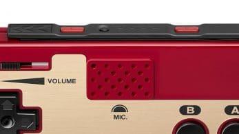 Los mandos de estilo Famicom para Nintendo Switch tienen incorporado un micrófono que funciona