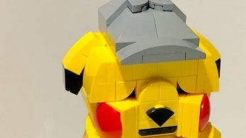 Un fan ha creado un Pikachu con la cara arrugada hecho de LEGO