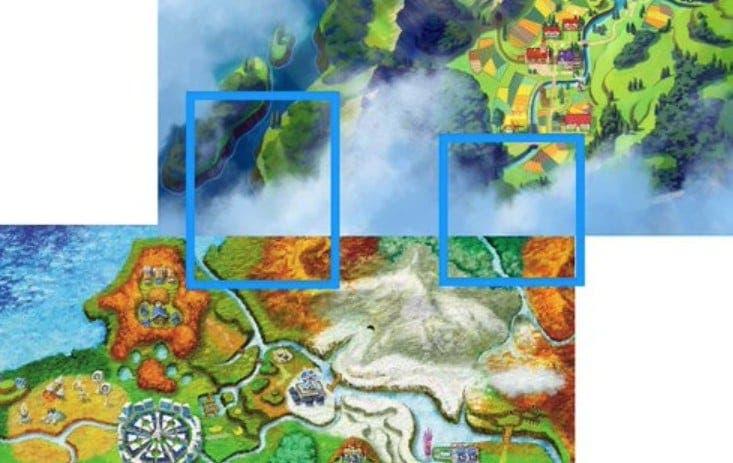 Diversas hipótesis apuntan a que la región de Kalos de Pokémon X e Y y la de Galar de Pokémon Espada y Escudo están conectadas