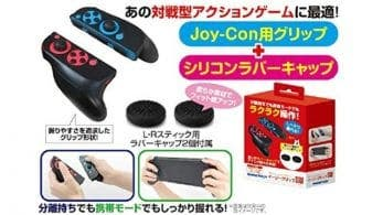 GameTech revela un Grip desmontable para los Joy-Con de Nintendo Switch