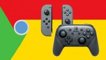 Google Chrome espera añadir compatibilidad con los mandos de Nintendo Switch pronto
