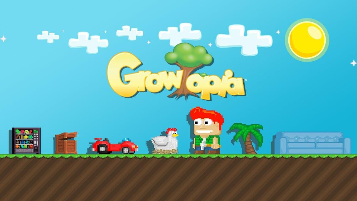 El free to play de Ubisoft Growtopia queda confirmado para Nintendo Switch