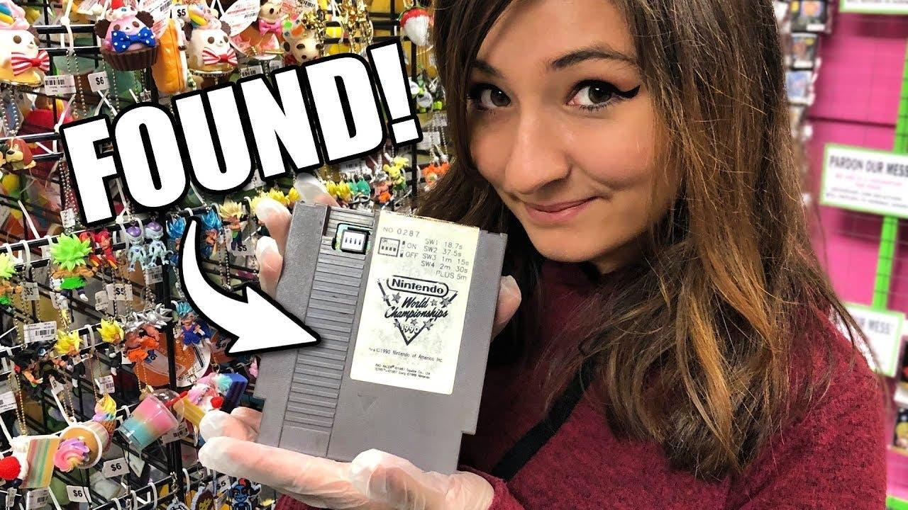 Encuentran un cartucho para NES muy raro de Nintendo World Championship