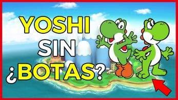 [Vídeo] Teorías del motivo por el que Yoshi lleva botas