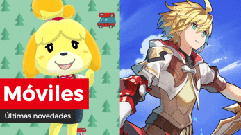 Novedades para móviles: Columpio cerezo de Cati en Animal Crossing: Pocket Camp e ilustración de 6 meses de Dragalia Lost