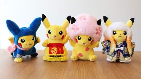[Act.] Los peluches de Pikachu del primer aniversario del Pokémon Center Tokyo DX ya se pueden comprar en NintendoSoup Store