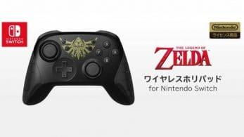Un mando inalámbrico de The Legend of Zelda es anunciado en Japón