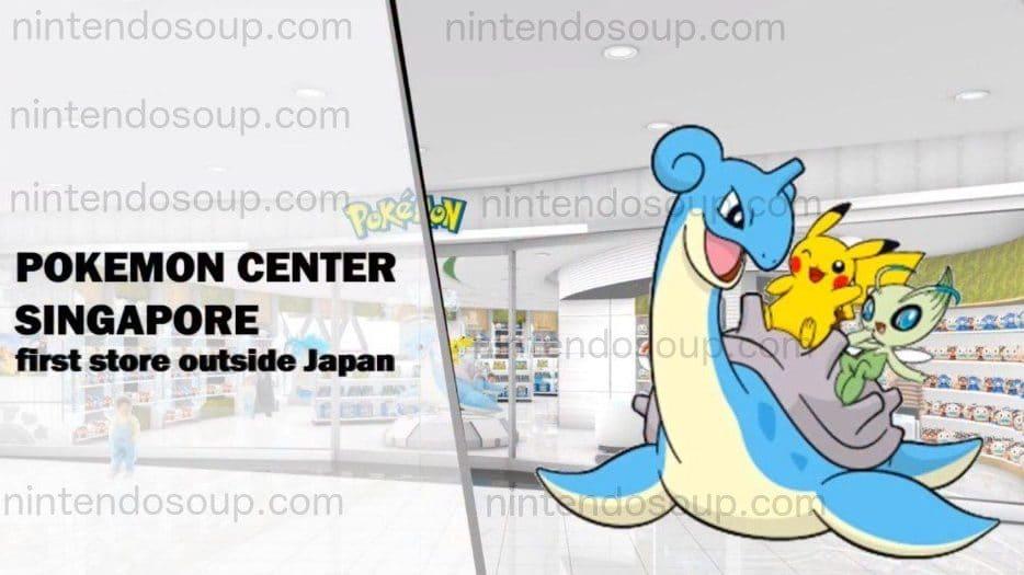 Un Pokémon Center se abrirá en Singapur el 17 de abril