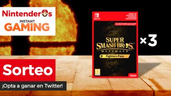 ¡Sorteamos 3 Fighters Pass de Super Smash Bros. Ultimate para Nintendo Switch!