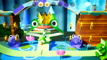 El compositor de Yoshi's Woolly World retuitea los comentarios negativos de la banda sonora de Yoshi's Crafted World