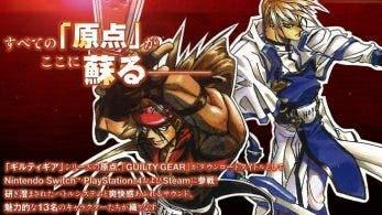 Ya disponible el sitio web oficial japonés de Guilty Gear 20th Anniversary Pack
