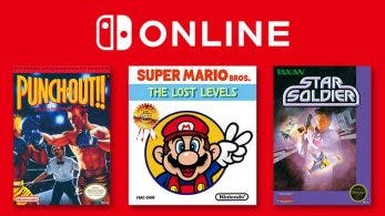 Super Mario Bros.: The Lost Levels, Punch-Out!! Featuring Mr. Dream y Star Soldier son los juegos que recibe la app de NES de Nintendo Switch Online este mes