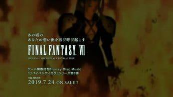 "Square Enix ha anunciado el ""Revival Disc"" de Final Fantasy VII"