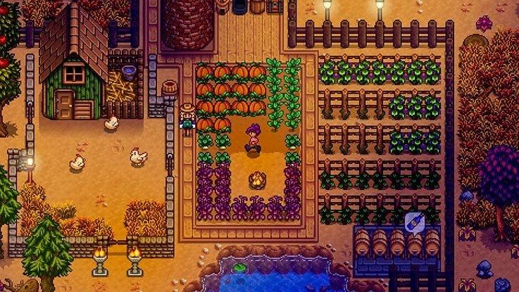 """El desarrollador de Stardew Valley afirma que la versión 1.4 del juego """"va por buen camino"""""""
