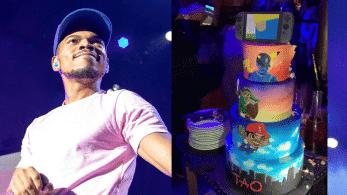 Mira la genial tarta nintendera con la que Chance the Rapper ha celebrado su cumpleaños