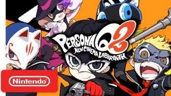 Nintendo comparte un nuevo tráiler de Persona Q2: New Cinema Labyrinth centrado en los personajes que regresan