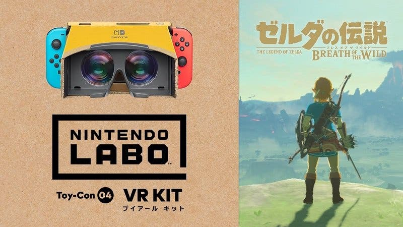 Este vídeo de YouTube nos permite experimentar la realidad virtual de Zelda: Breath of the Wild si lo vemos en Nintendo Switch