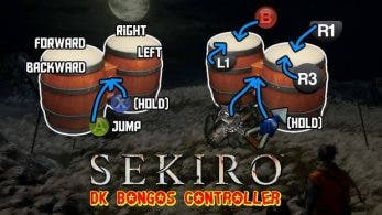 Superan Sekiro: Shadows Die Twice con los DK Bongos de Donkey Konga